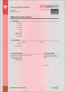 Dokument do ślubu za granicą - USC