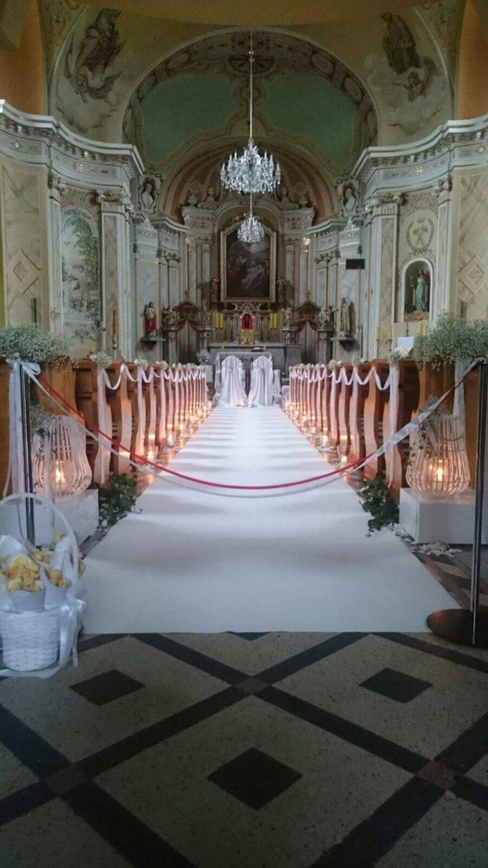 Biały dywan do ślubu na Śląsku