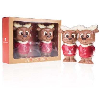 Świąteczne renifery z czekolady